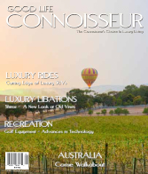 Good Life Connoisseur Magazine - Fall 2009 - AUSTRALIA - Come Walkabout