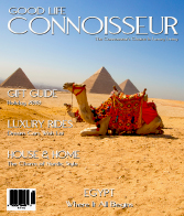 Good Life Connoisseur Magazine - Winter 2010 - Egypt - Where It All Begins