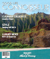 Good Life Connoisseur Fall 2013 Kaua'i - Island of Discovery