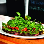 Grilled Hanger Steak with Chimichurri