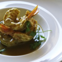 Sri Lankan King Prawn Curry